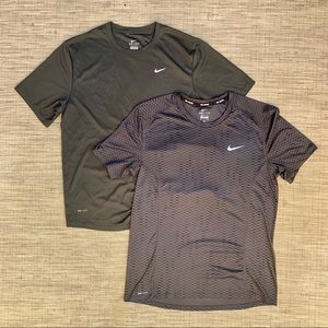 Nike Dri Fit Running Athletic Shirt Lot Size Med